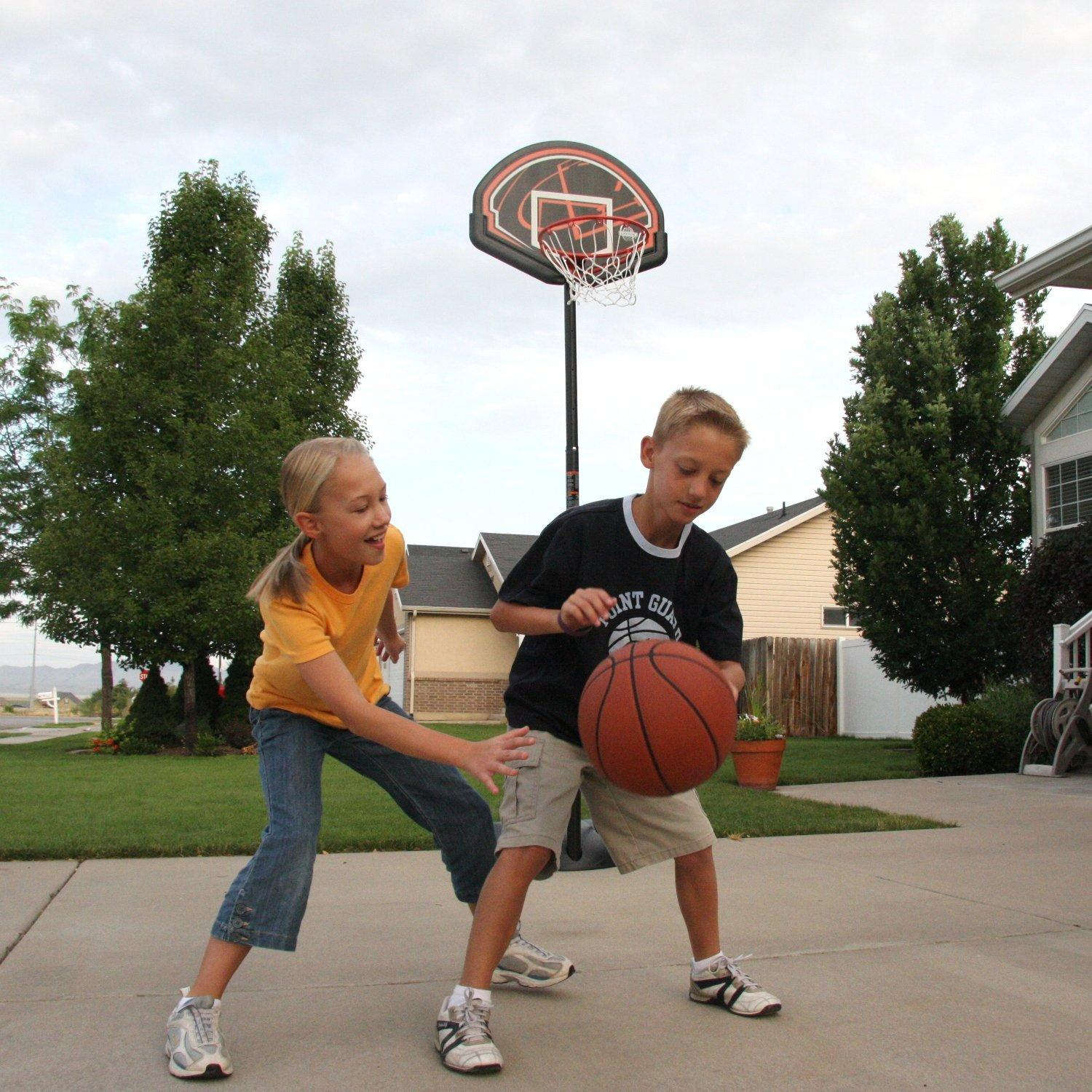 "$29 Lifetime 90022 90"" Youth/Indoor Portable Basketball System"