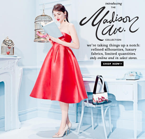25% OFF Clothing @ kate spade