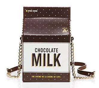 Creme De La Creme Milk Container Crossbody