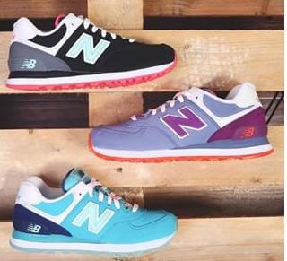 From $34.2 New Balance Women's WL574 Glacial Pack Running Shoes