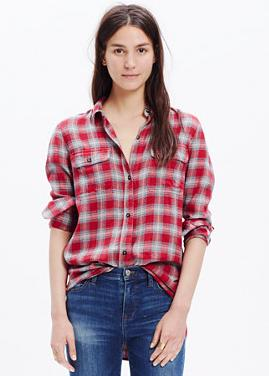 Extra 40% Off Women's Shirts @ Madewell