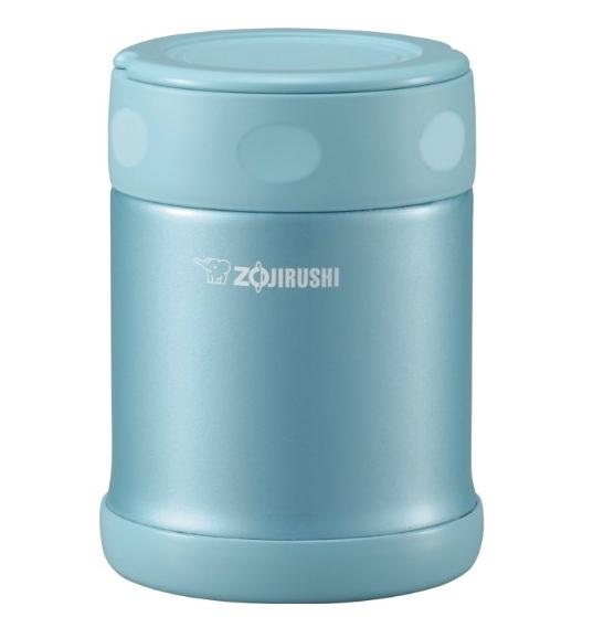 Zojirushi SW-EAE35AB Stainless Steel Food Jar, 12-Ounce/0.35-Liter, Aqua Blue