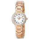 Bulova Womens 98R156 Classic Round Diamond Accented Watch