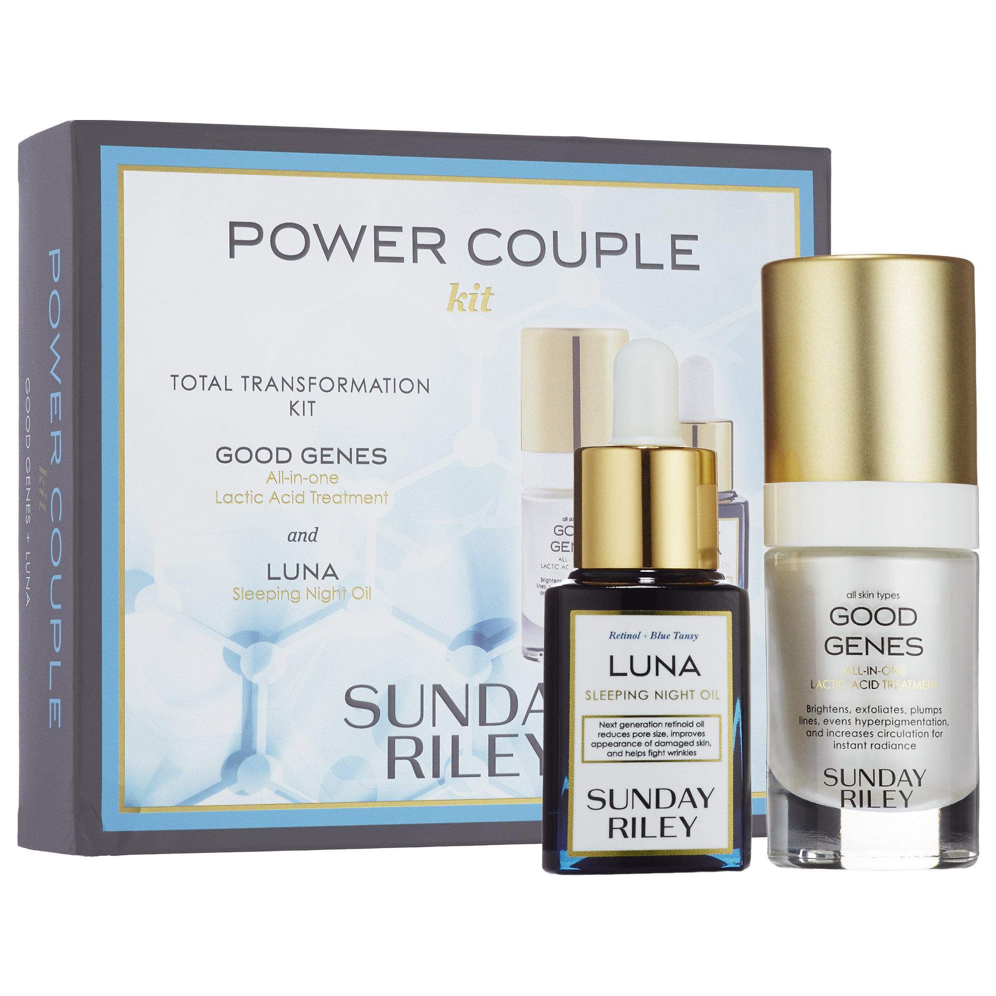 New Release Sunday Riley launched Power Couple Duo: Total Transformation Kit