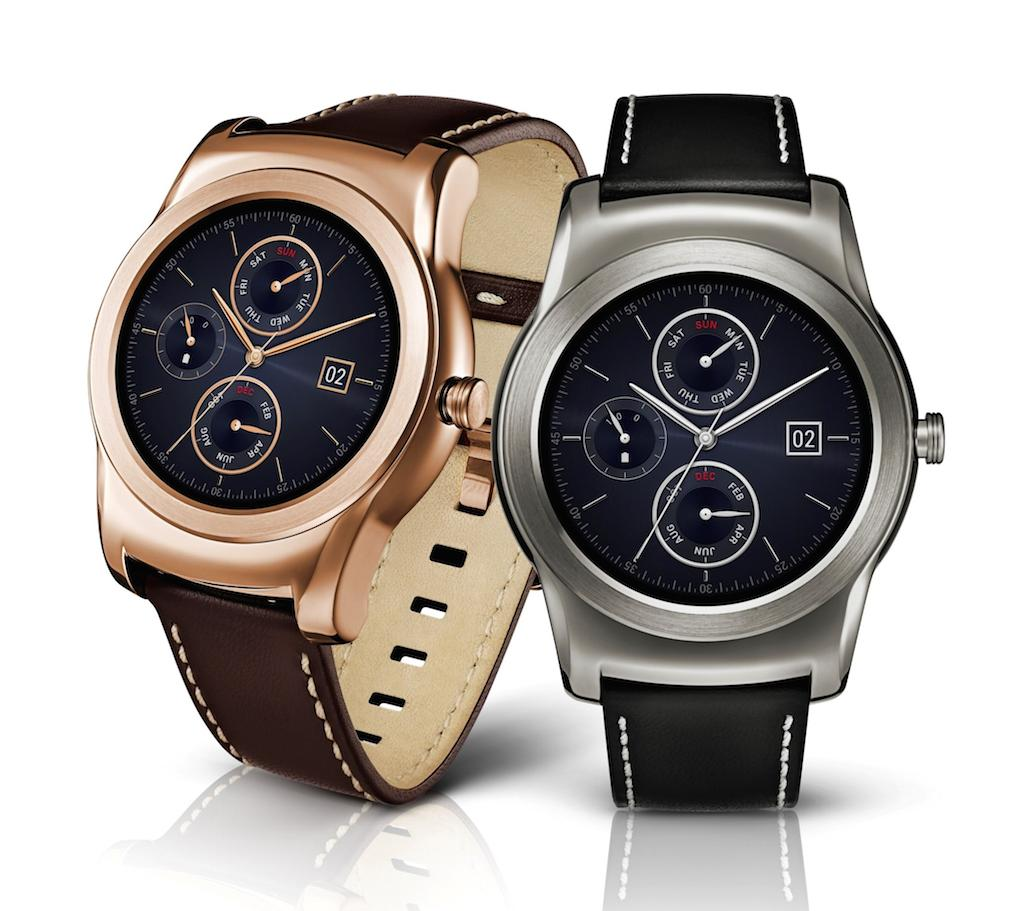 $215 LG Watch Urbane Wearable Smart Watch Pink Gold