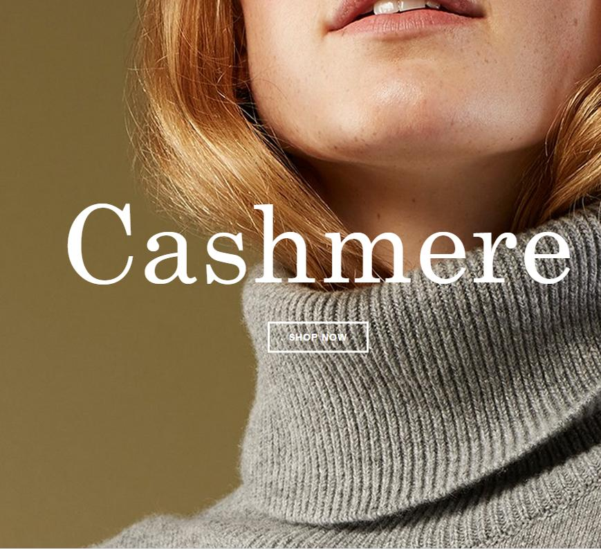 Start From $115 Cashmere @ Everlane