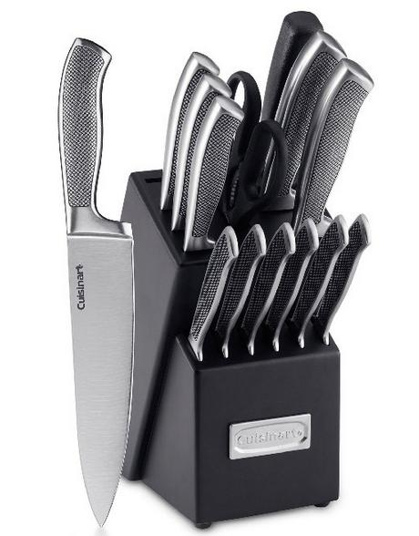 Cuisinart 15-Piece Graphix Collection Cutlery Knife Block Set