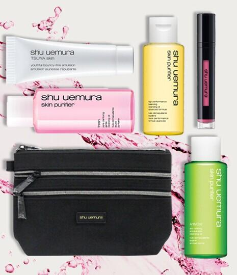 Dealmoon Exclusive! Free Makeup Pouch + 5-pc gift with Any Order Over $50 @ Shu Uemura