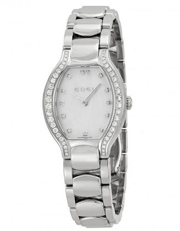 EBEL Beluga Tonneau Mother of Pearl Dial Diamond Ladies Watch