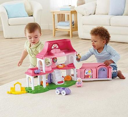 $19.95 Fisher-Price Little People Happy Sounds Home Play Set
