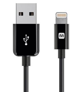 $4.49 Monoprice 3ft Apple Certified Lightning to USB Cable
