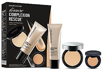 $38($53 Value)+FREE award-winning deluxe foundation sample Bare Minerals Discover Complexion Rescue