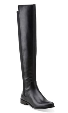 Bizzy Girl Black Leather Boot