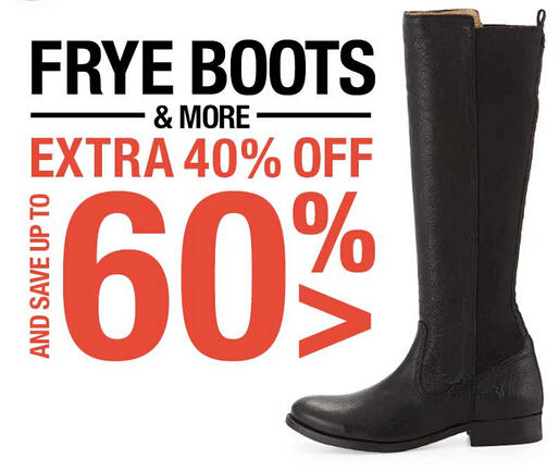 Extra 40% OFF Frye Boots & More at Fashion Dash @ LastCall by Neiman Marcus