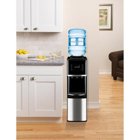 Primo Top-Load Water Dispenser, Stainless Steel/Black @ Walmart