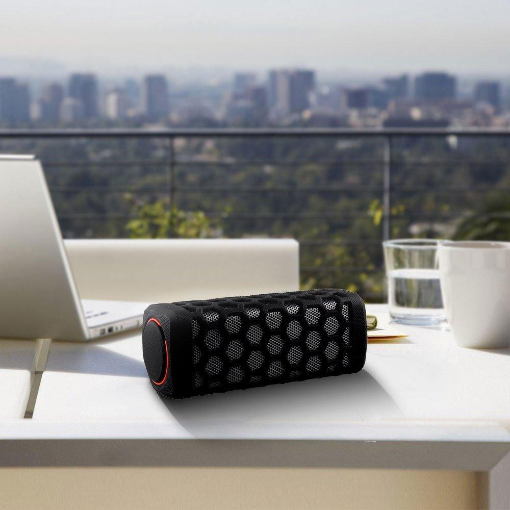 Bienna Portable Bluetooth Speaker & Power Bank (Water Resistant, Shockproof, 7000mAh, Bluetooth CSR 4.0, NFC)