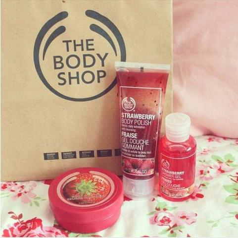 Buy 3, Get 2 Free Select Products @ The Body Shop
