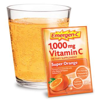 Free Sample Emergen-C Vitamin Supplement Drink Mix