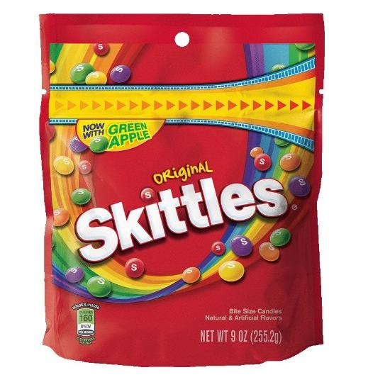 $1.29 Skittles Original Candy, 9 Ounce @ Amazon