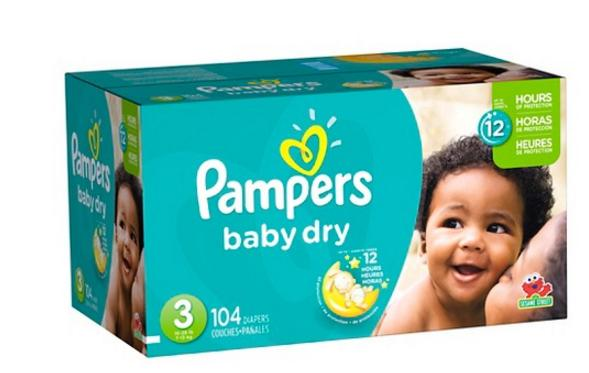 Free $20 GIft Card when Your Buy (3) Boxes of Select Diapers @ Target