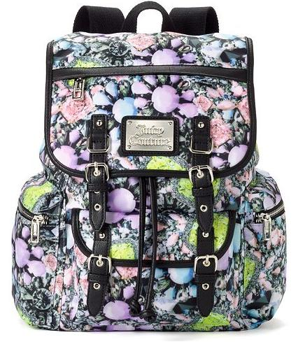 Juicy Couture Lacey Foil Leopard Backpack On Sale @ Kohl's