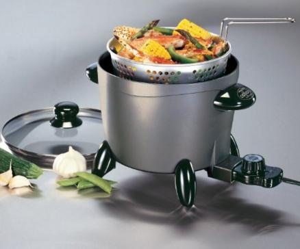 Prime Members only! Presto 06003 Options Electric Multi-Cooker/Steamer