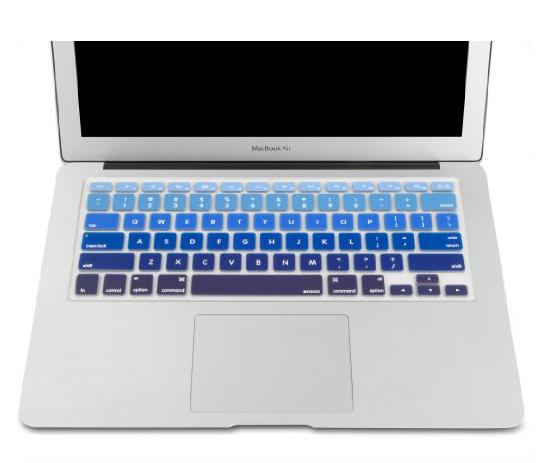 Mosiso - Keyboard Cover Silicone Skin for MacBook Air 13