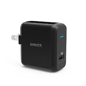 [Qualcomm Certified] Anker PowerPort+ 1 Premium 18W USB Wall Charger