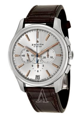 Zenith Men's Captain Chronograph Watch 03-2110-400-01-C498