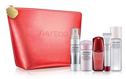 Free 6-Pc. Gift with Purchase of 2 or More Shiseido Skin Care Items @ Macy's