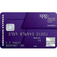 Earn 25,000 Bonus Starpoints® After Required Spend Starwood Preferred Guest® Business Credit Card from American Express
