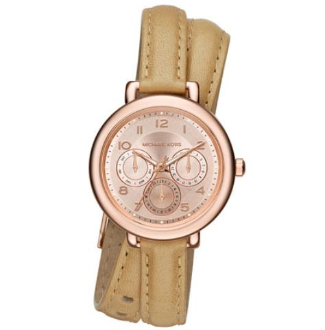 Michael Kors  38mm Kohen Double-Wrap Watch @ Neiman Marcus