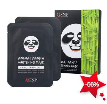 SNP Animal Panda Whitening Mask 1box, 10pcs On Sale @ COSME-DE.COM