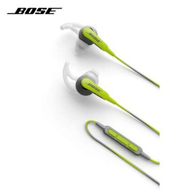 Bose SoundSport n-Ear Headphones - for Samsung Galaxy smartphones - Green 717534-0040