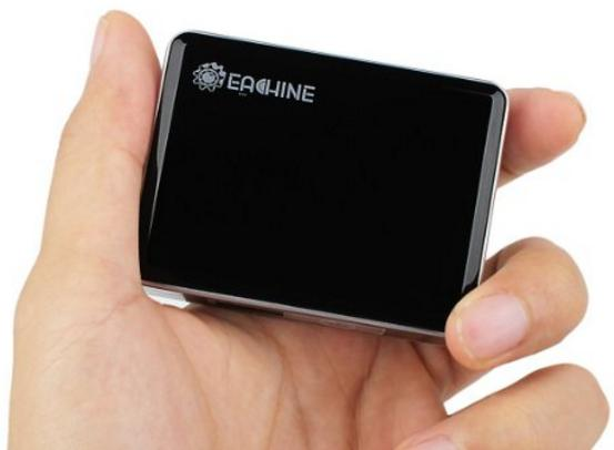 Eachine Mini Y5 6000mAh Power Bank for Apple iPhone, Android, Smartphones, Tablets - Black
