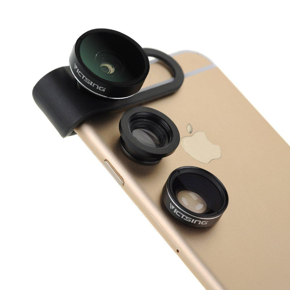 VicTsing® 3 in 1 Clip-On Camera Photo Kit For Apple iPhone
