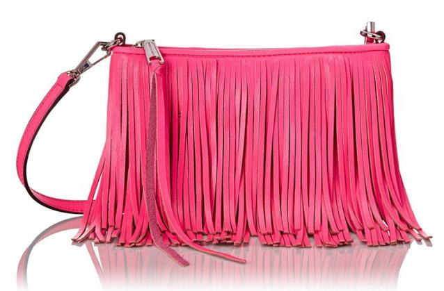 Rebecca Minkoff Finn Clutch Cross Body, Electric Pink