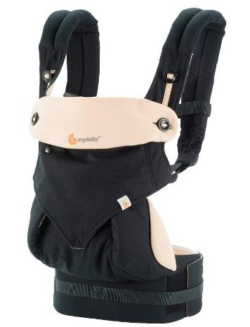 $159.99 + Free $45 Gift Card Ergobaby Four Position 360 Baby Carrier(Black)
