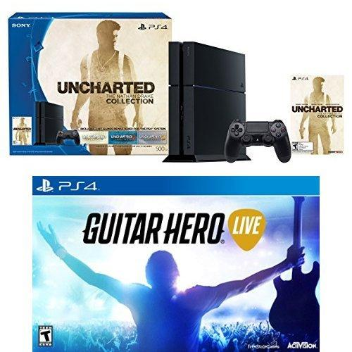 $399.00 PlayStation 4 500GB Uncharted: The Nathan Drake Collection Guitar Hero Live Bundle
