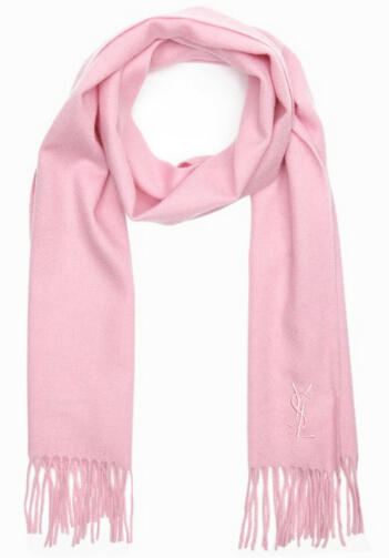 YSL Wool Scarf @ Bluefly