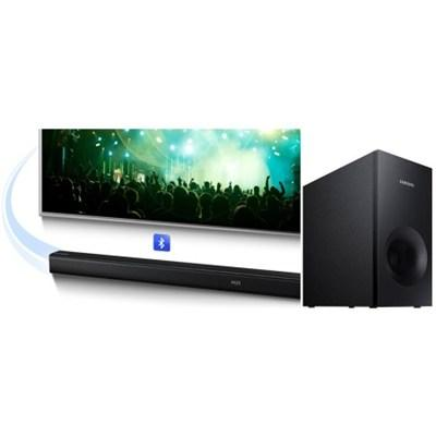 $147.99 Samsung HW-J355 2.1 Channel 120 Watt Audio Soundbar with Bluetooth