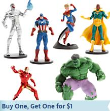 Buy 1 Get 1 for $1 Classic Figure Play Sets @ Disney Store
