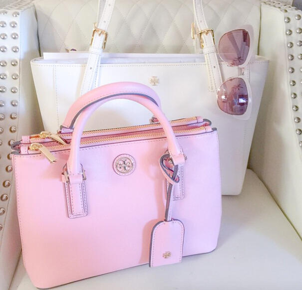 Up to $175 Off with Purchase of Tory Burch Robinson Handbags @ Saks Fifth Avenue