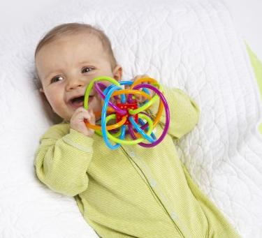 $8.67 Manhattan Toy Winkel Rattle and Sensory Teether Activity Toy
