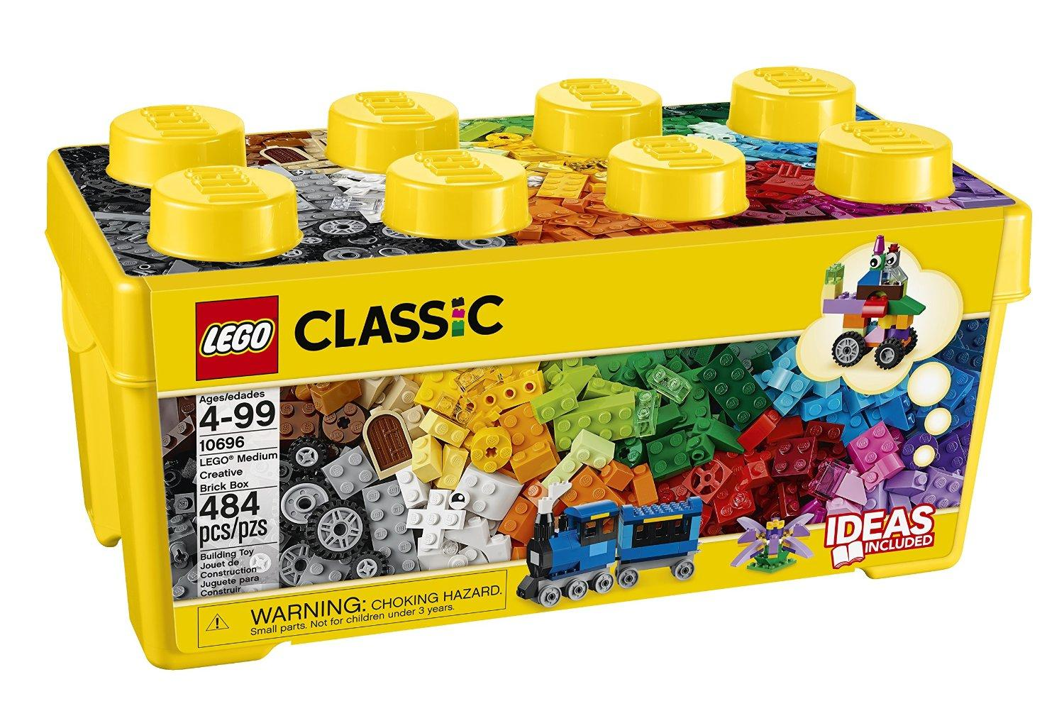 $25.53 LEGO Classic Medium Creative Brick Box @ Amazon