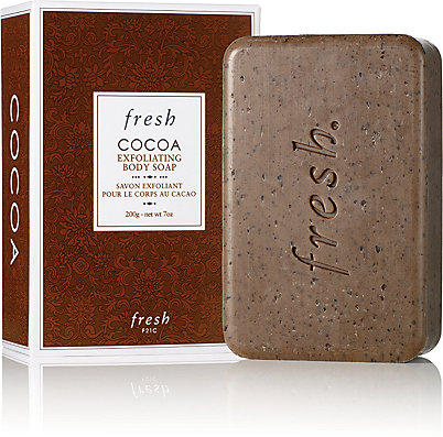 New Release Fresh launched New Cocoa Exfoilating Soap