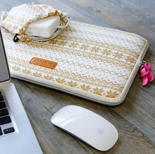 Inateck 13.3 Inch Bohemian Macbook Air/ MacBook Pro Retina Ultrabook Netbook Envelope Cover