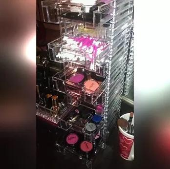 $24.99 US Acrylic® Clear Organizer Tower with 10 Removable Drawers