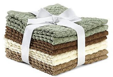 Colormate 8-Pack Washcloths