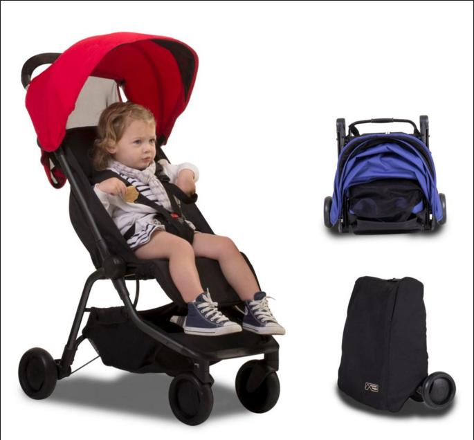 Free $40 GiFT Card Mountain Buggy Nano Travel Stroller @ Albee Baby